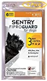 Sentry FiproGuard for Dogs Dogs up to 22 lbs (6 Doses) - Pack of 6