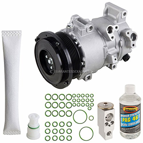 Air Conditioning Kit - AC Compressor w/A/C Repair Kit For Toyota RAV4 2006 2007 - BuyAutoParts 60-81161RK New