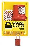 Master Lock Electrical Plug Lockout Center, Includes 1 Aluminum Padlock