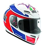 AGV Grid Replica Marco Lucchinelli Motorcycle Helmet - X-Small