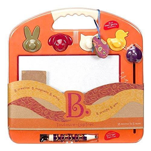 B. Toulouse Laptrec Magnetic Drawing Board - Tangerine arancia by B.