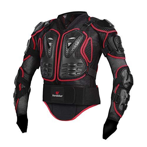 Chaqueta protectora de motocicleta, motos de motocross deportivo, ropa de protección corporal resistente a los golpes, hombres,XL por QWERTU