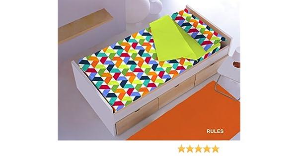 Saco Nórdica CON Relleno ref. RULES para cama de 70 x 160 cm.: Amazon.es: Bebé
