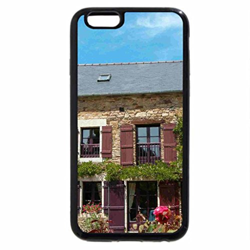 iPhone 6S / iPhone 6 Case (Black) Rosy Cottage