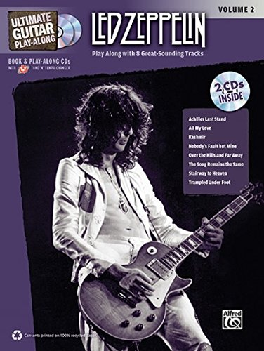 Bass Guitar Tab Cd (Ultimate Guitar Play-Along Led Zeppelin, Vol 2: Authentic Guitar TAB, Book & 2 CDs (Ultimate Play-Along))