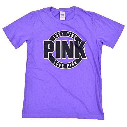 5e8ff47552 Victoria s Secret Pink Short Sleeve Crew Neck Graphic T-Shirt (XS