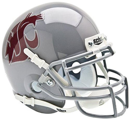 NCAA Washington State Cougars Collectible Mini Helmet (State Washington Helmet Cougars)