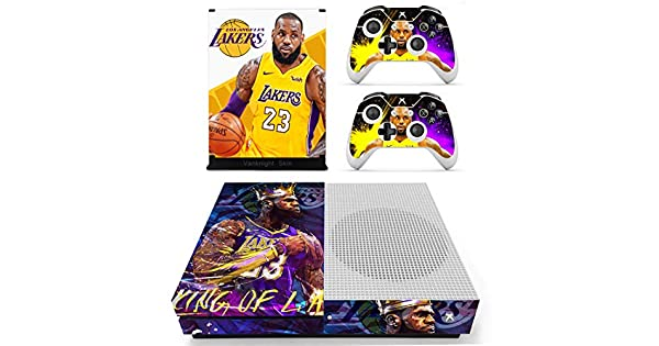 United Xbox One X Lebron James Lakers Skin Sticker Console Decal Vinyl Xbox One Video Game Accessories