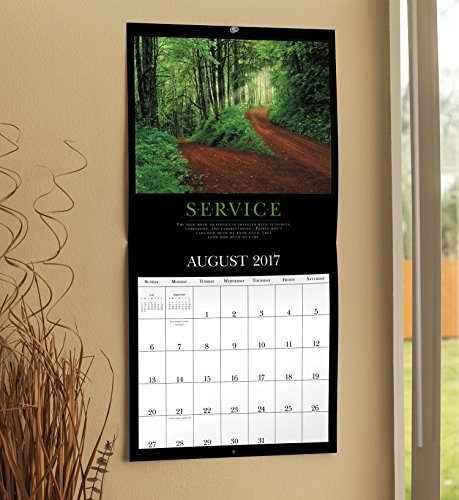 Motivational Classics Wall Calendar (2017)