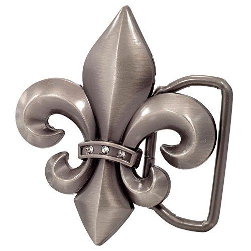 Buckle Rage Adult Unisex Fleur de Lis French Symbol Belt Buckle Antique (Fleur De Lis Buckle)