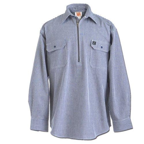 Bailey's Long Sleeve Hickory Shirt - Tall Length ()