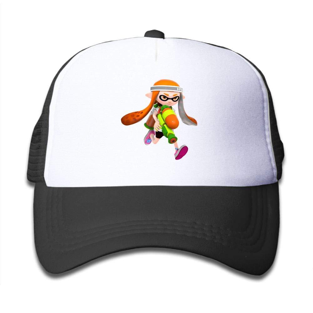 Splatoon Game Youth Boys Mesh Hat Fashion Child Mesh Hat One Size