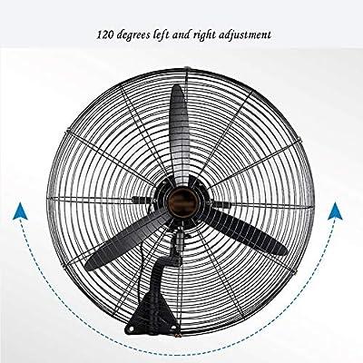 ALX Ventilador de pared - Ventilador industrial Potente Ventilador ...
