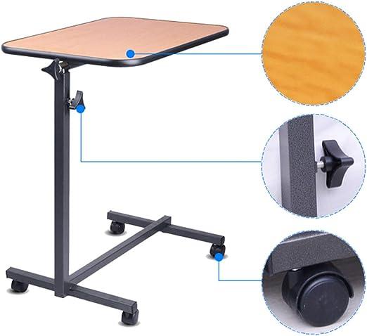 Mesa de bandeja móvil para cama o silla, bandeja giratoria con ...