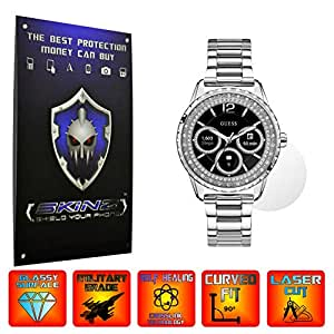X-Skinz Guess Connect Touch - Juego de 4 Protectores de Pantalla para Smartwatch (Pantalla Completa), película autocurativa Invisible Ultra ...