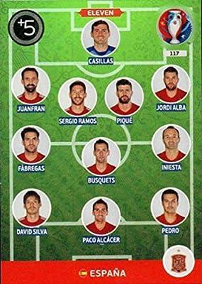 Panini Adrenalyn XL UEFA Euro 2016 Espana Eleven Card: Amazon.es: Deportes y aire libre
