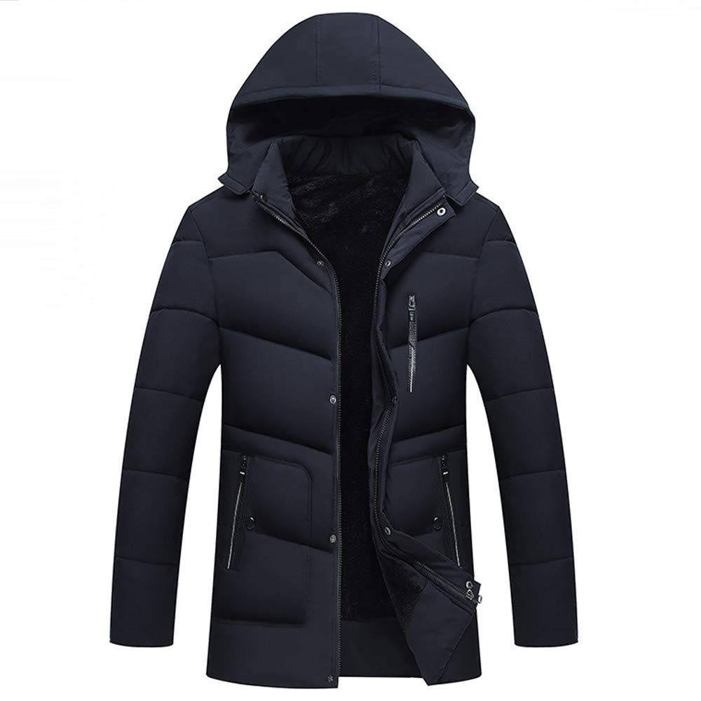 Batnott Herren Winterjacke Oversize Hoodie Zipper Schwarz Casual Sport Mantel Warm Große Größen Modern Langarm Sweatshirt Slim Fit Regular Softshell