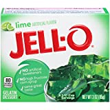 Jell-O Lime Gelatin Dessert Mix, 3 oz Box