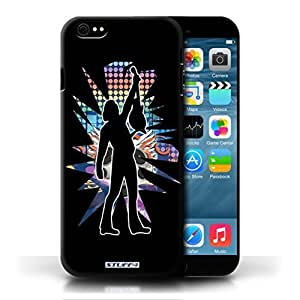 KOBALT? Protective Hard Back Phone Case / Cover For Case Iphone 5/5S Cover | Reach Black Design | Rock Star Pose Collection