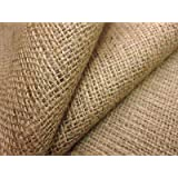 WI India Natural Hessian Cloth/Burlap Fabric Roll for DIY Crafts Home Decor (5m, 39-inch)