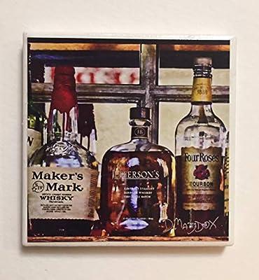 Bourbon Bottles Coaster
