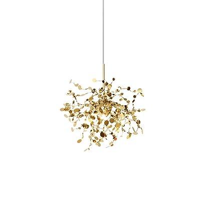 Style wei Ywyun Lámpara Colgante LED de Arte Minimalista posmoderno, lámpara de Escalera Creativa Villa