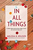 img - for In All Things: A Nine-Week Devotional Bible Study on Unshakeable Joy book / textbook / text book