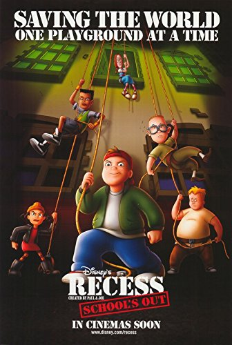 11 x 17 Recess: School's Out Movie Poster