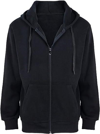 Fleece Hoodies for Men Zipper Lightweight Spring Long Sleeve Active Mens  Jackets Sports Full Zip Sweatshirts at Amazon Men's Clothing store