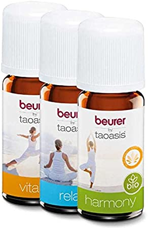 Beurer Aromaoil Pack of 3 - Harmony, Relax and Vitality (Amazon + ...