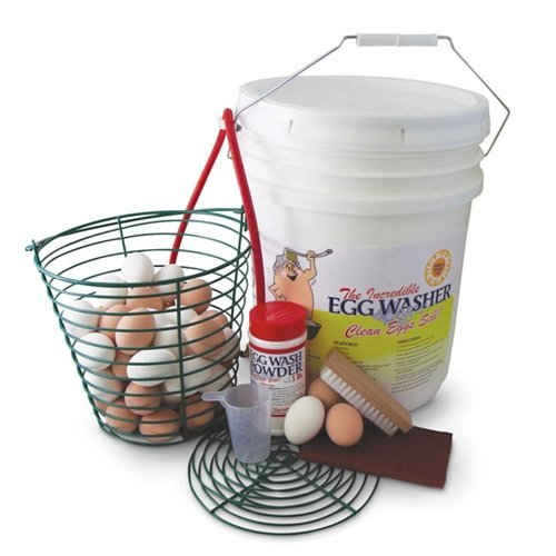 The Incredible Egg Washer by Fall Harvest Products®
