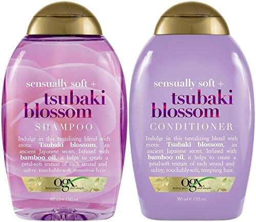 Shampoo & Conditioner: OGX Tsubaki Blossom