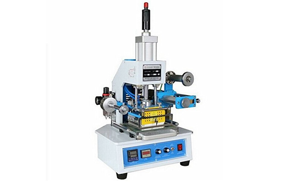 KUNHEWUHUA Pneumatic Hot Stamping Machine 1160mm Printable Area Press Leather LOGO Stampler Printer ZY-819E