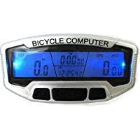 Kool(TM) Wireless LCD Bicycle Bike Speedometer Odometer Waterproof Mountain Cycling Computer Speedo