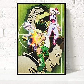 Geiqianjiumai Decoración del hogar Lienzo HD Impresión Cartel Animado Sala de Estar Arte de la Pared Imagen Pintura sin Marco Modular 40x50 cm: Amazon.es: Hogar