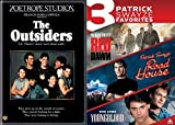Patrick Swayze Collection - Outsisders, Red Dawn, Road House & Youngblood 4-Movie Bundle