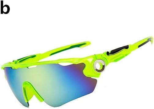 ZHENEN Gafas a Prueba Gafas para Bicicletas Hombre Gafas de ...