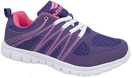 Womens Running Gym Sport Trainers / Lightweight Purple Mirak 75XeWNTeaE