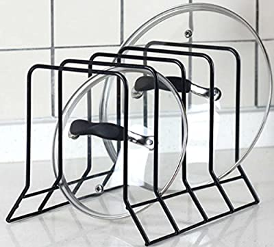 Kitchen Bakeware Pot Lid Rack Holder Organizer