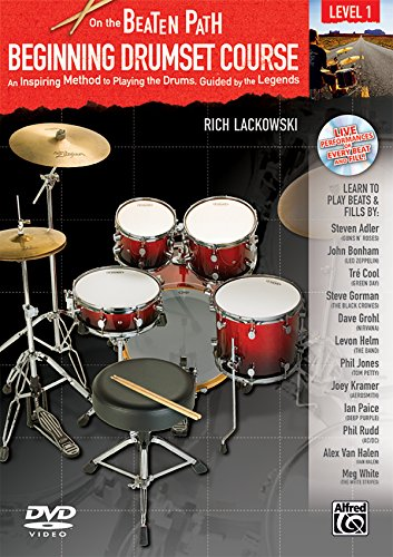 - Beginning Drumset Course, Level 1: An Inspiring Method to Playing the Drums, Guided by the Legends, Book, CD, & DVD ()