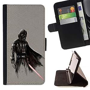 - Darth Superhero/ Personalized Design Custom Style PU Leather Case Wallet Flip Stand - Cao - For LG Volt 2 / LG G4 Mini (G4c)