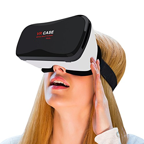 Hot selling VR mobile phone 3D glasses Game handle Headse...