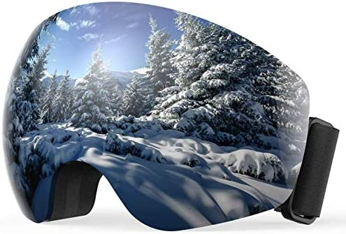 Ski Goggles Anti Fog Snow Goggles Double Layer Spherical Lens Snowboard Goggles for Men Women Youth 100 UV Protection