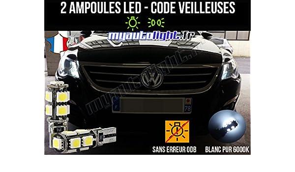 Pack lamparillas LED de color blanco Xenon para Volkswagen Passat CC: Amazon.es: Coche y moto