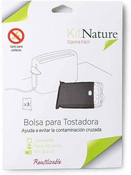 Kit Nature Bolsa para Tostadora - Pack de 3 Bolsas para Tostar ...