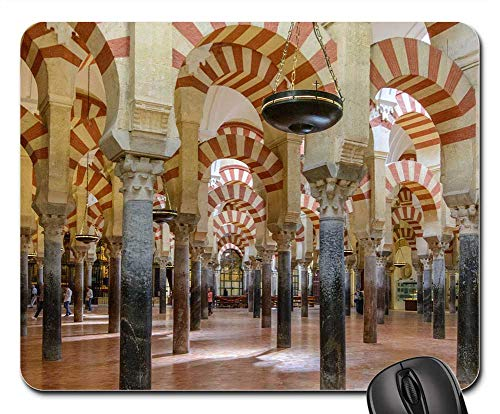 Mouse Pads - Architecture Moorish Spain Cordoba Mezquita