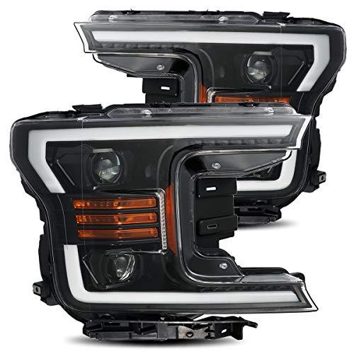 AlphaRex Jet Black PRO-Series Upgrade Model Projector Headlights fits 2018-2020 Ford F-150 (Best Interior Design Blogs 2019)
