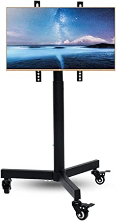 Soporte de TV móvil con Ruedas para Pantalla Plana LCD LED de Plasma de 14-32nch, Soportes de TV con Ruedas de Altura Ajustable y con rodamiento: Amazon.es: Hogar