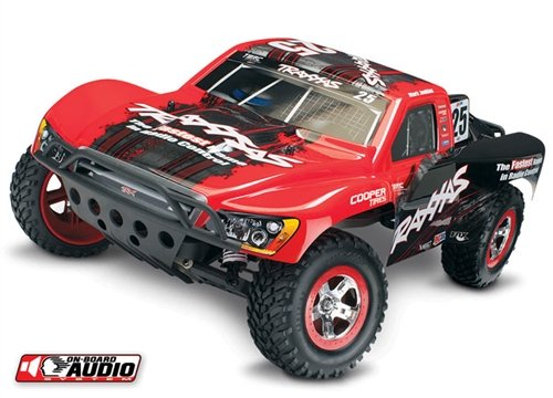 Traxxas TRA58034-2 Slash Pro SCT 2.4Ghz With NiMh iD Battery, Fast Charger, and On-Board Audio