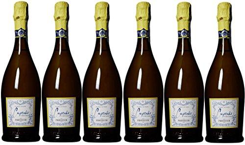 NV Cupcake Vineyards Prosecco pack, 6 x 750 mL Sparkling Wine